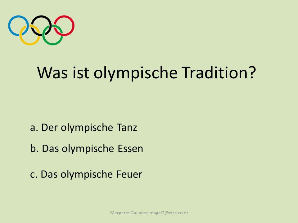 a.Olympioniken Wie werden die Olympia- TeilnehmerInnen genannt.