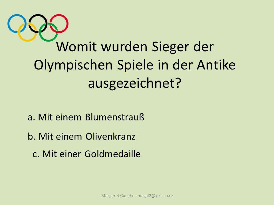 b.Pierre de Coubertin Wer gilt als Vater der Olympischen Spiele der Neuzeit.
