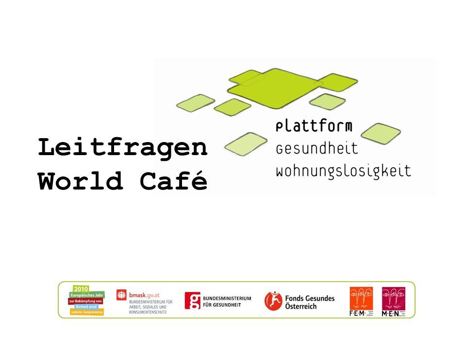 Leitfragen World Café