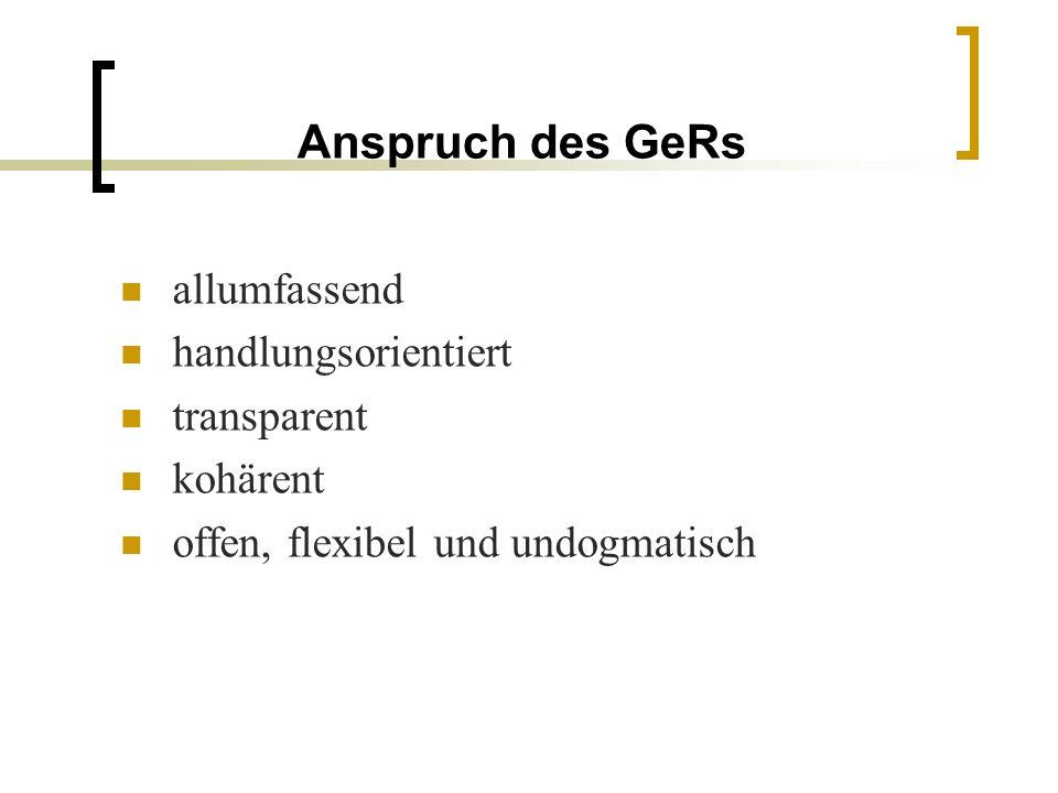 Die Kompetenzniveaus: der zentrale Punkt des GeR Der GeR enthält objektive Kriterien für die Beschreibung von Sprachkompetenzen ist ein Werkzeug mit einer gemeinsamen Basis für klare Beschreibungen von Zielen und Inhalten