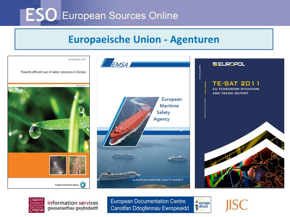 Europaeische Union - Agenturen