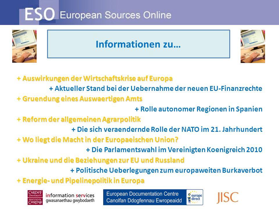 Einfachen Zugang Professionelle Auswahl Umfangreiche Inhalte ESO bietet …