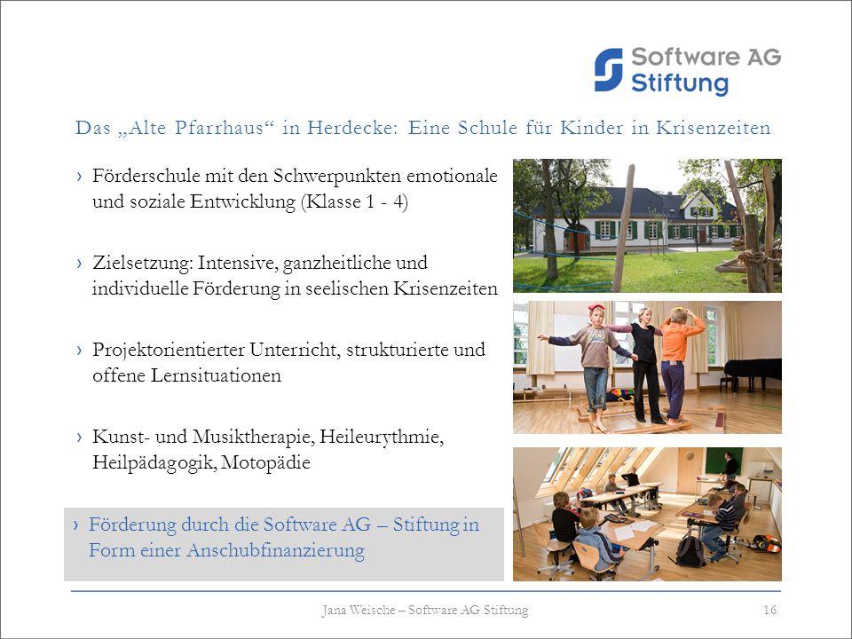 Das Alte Pfarrhaus in Herdecke: Eine Schule für Kinder in Krisenzeiten Förderschule mit den Schwerpunkten emotionale und soziale Entwicklung (Klasse 1