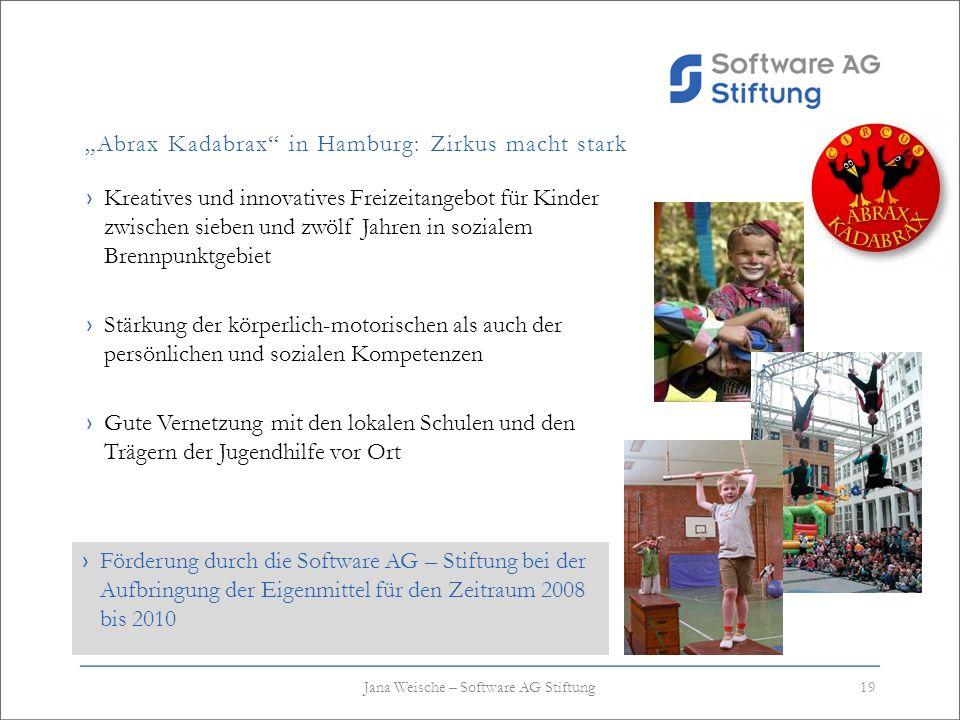 Abrax Kadabrax in Hamburg: Zirkus macht stark Kreatives und innovatives Freizeitangebot für Kinder zwischen sieben und zwölf Jahren in sozialem Brennp
