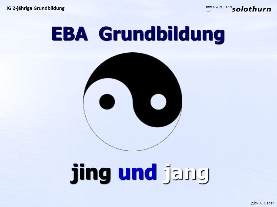 EBA Grundbildung jing und jang jing und jang ©by A. Bader