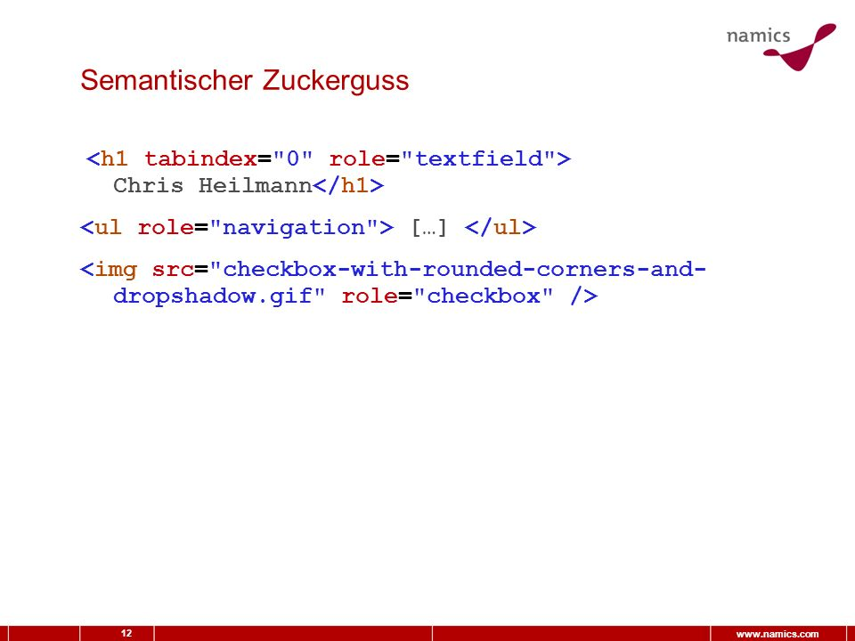 12 www.namics.com Semantischer Zuckerguss Chris Heilmann […]