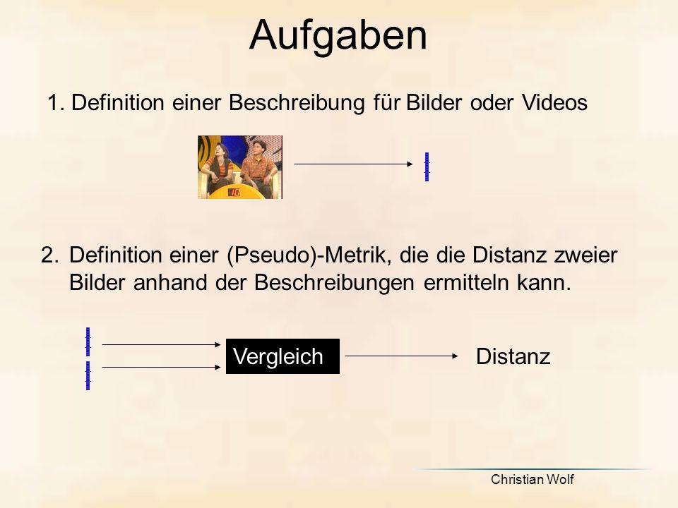 Christian Wolf Aufgaben 1.