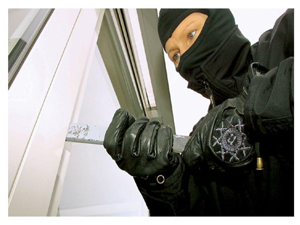 Betrachtungen 07 Einbrüche machen Angst Wenn Angst vor Kriminalität vorhanden ist, dann vor allem vor Einbrüchen.