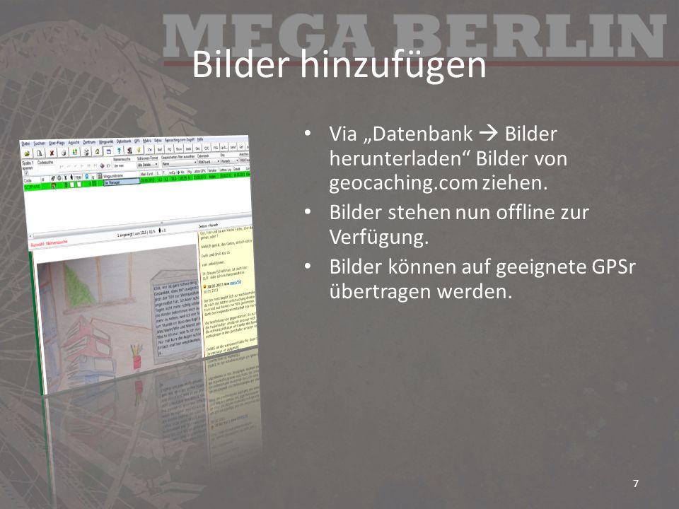 FSG, BG, GUS – die file-Schnittstelle BadgeGen erzeugt Badges und schreibt in die Datei C:\Users\[username]\AppData\Roaming\gsak\ Macros\FindStatGenNotes1.dat einen Verweis auf die aktuell erzeugten Badges ( BadgeGen Achievement Badges BadgeGen/Archive/Current.htm ) BadgeGen startet GUS, das wiederum startet FSG.