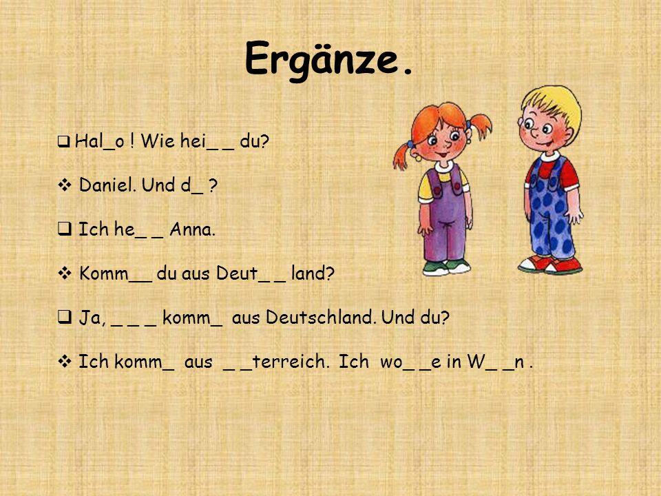 Grammatik - Satz Poradie vetných členov v hlavnej vete: 1.