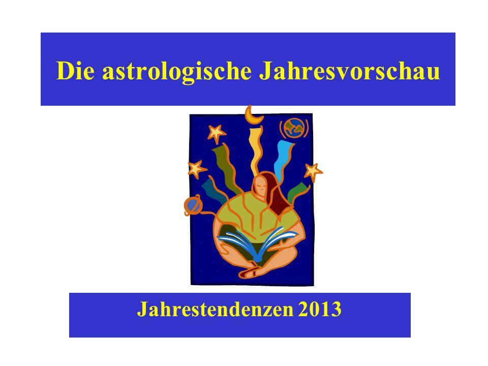 Die astrologische Jahresvorschau Jahrestendenzen 2013