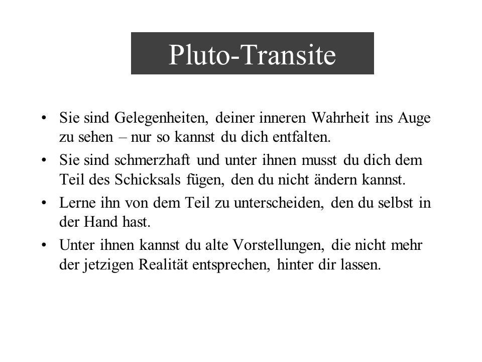 Pluto-Transite Sie sind Gelegenheiten, deiner inneren Wahrheit ins Auge zu sehen – nur so kannst du dich entfalten. Sie sind schmerzhaft und unter ihn