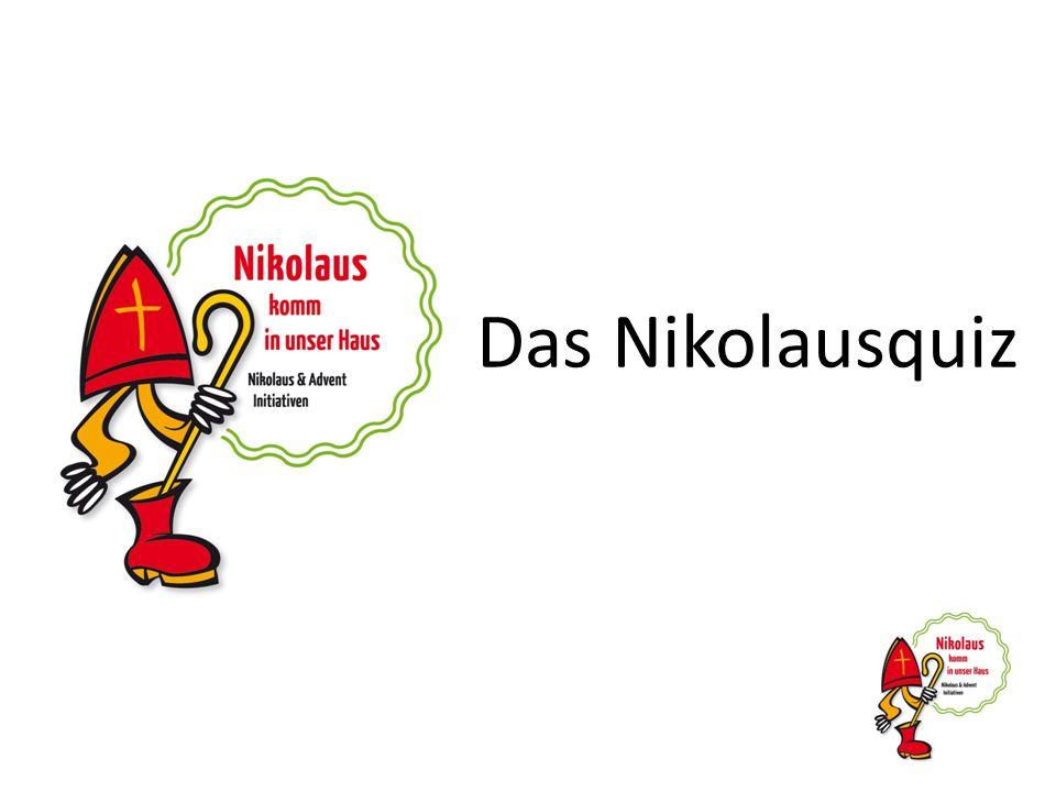 Wie heißt das Bündnis, in dem sich viele Privat- personen, Initiativen und Vereine für die gute Botschaft des Heiligen Nikolaus engagieren.
