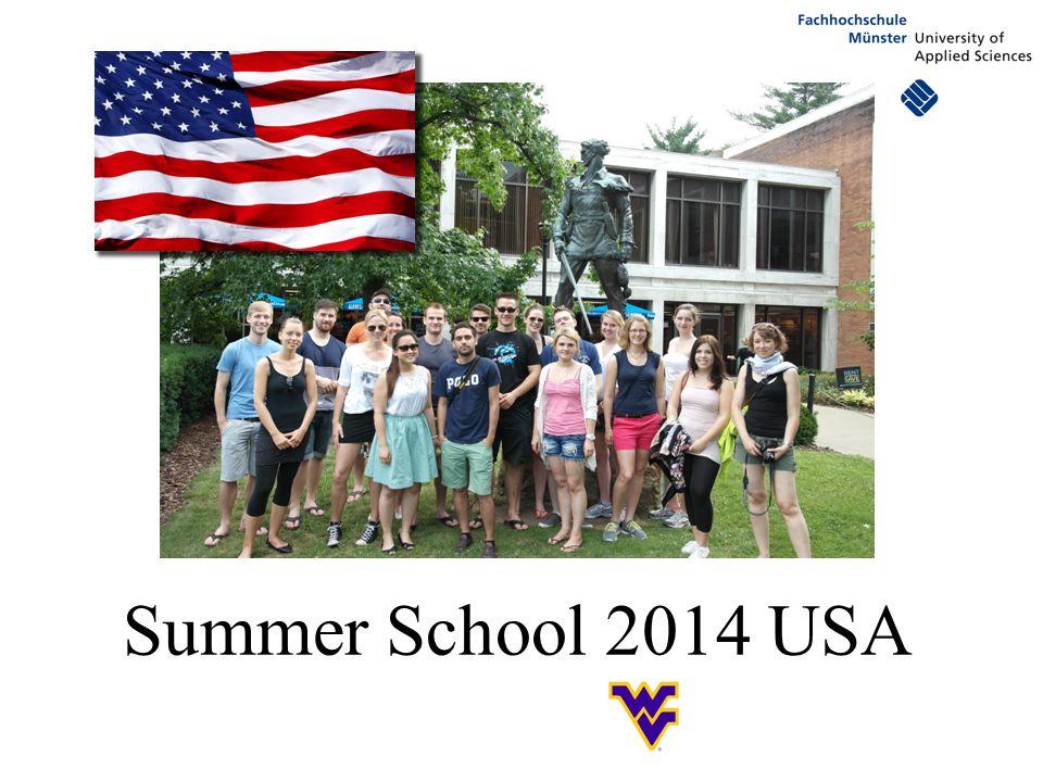 Alle Daten auf einen Blick Summer School 2014: 13.