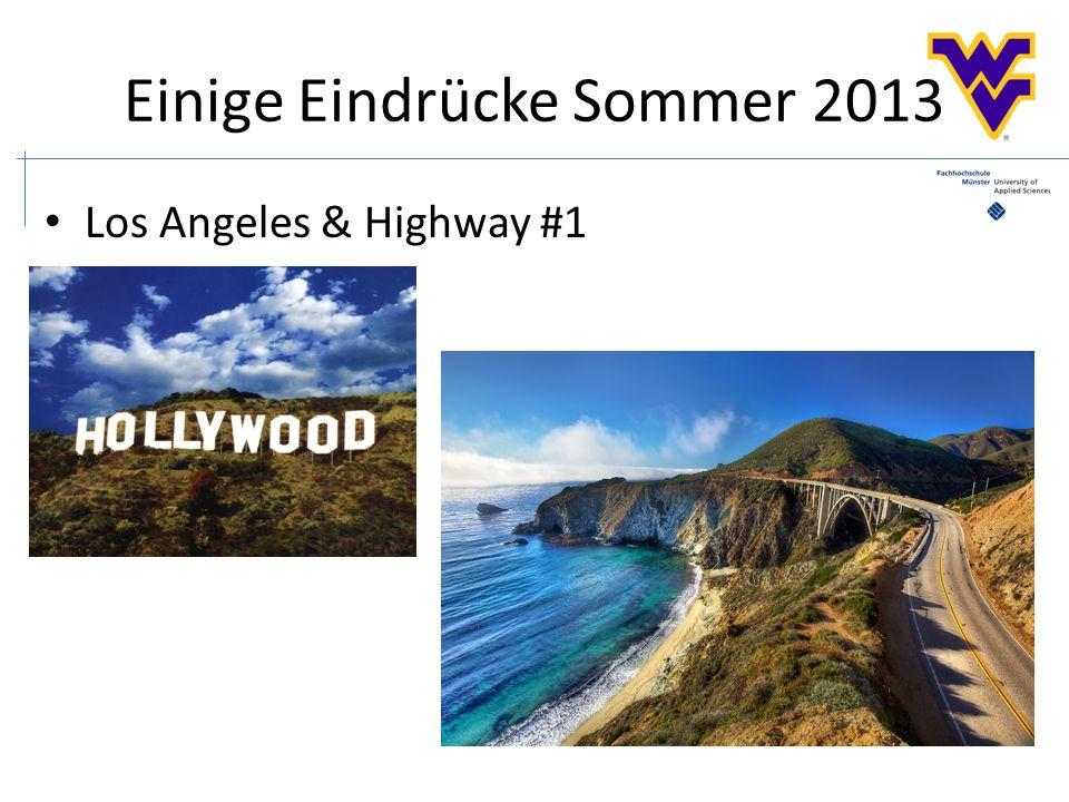 Einige Eindrücke Sommer 2013 Los Angeles & Highway #1