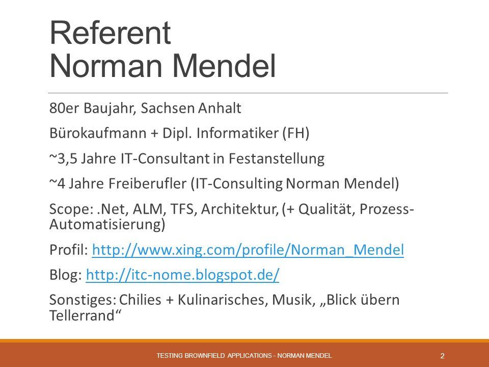 Referent Norman Mendel 80er Baujahr, Sachsen Anhalt Bürokaufmann + Dipl.