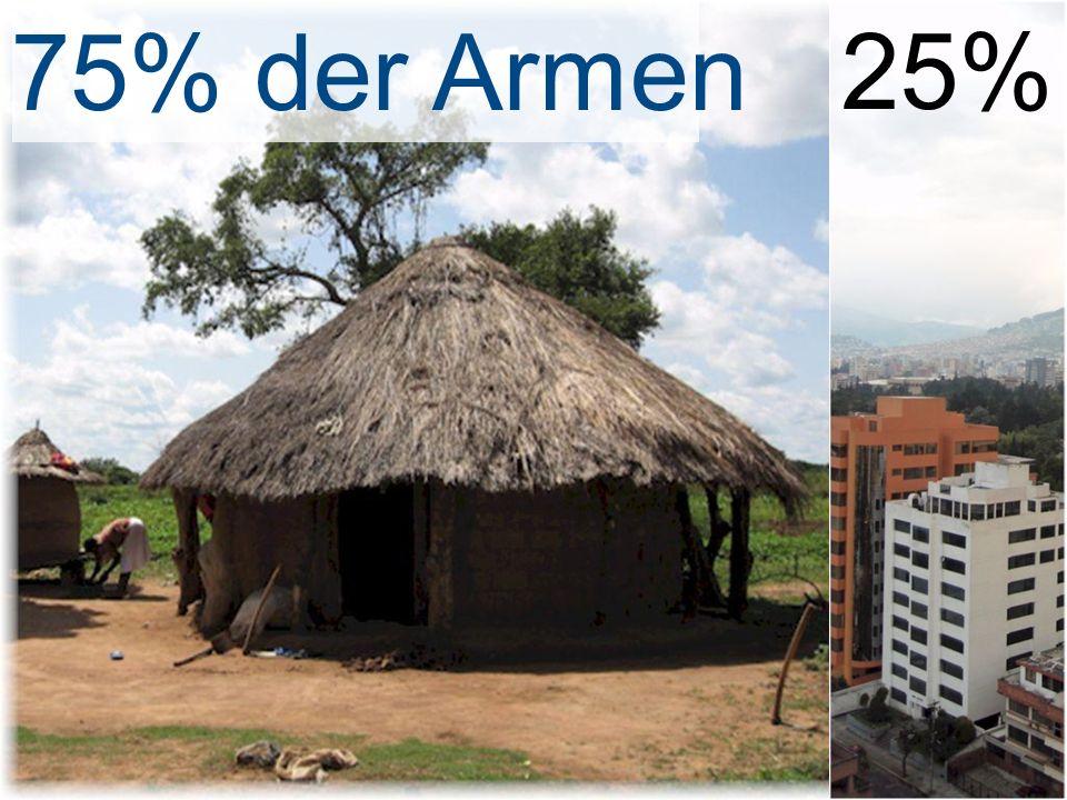 75% der Armen 25%