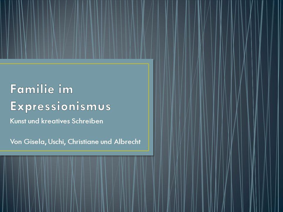 Kunst und kreatives Schreiben Von Gisela, Uschi, Christiane und Albrecht