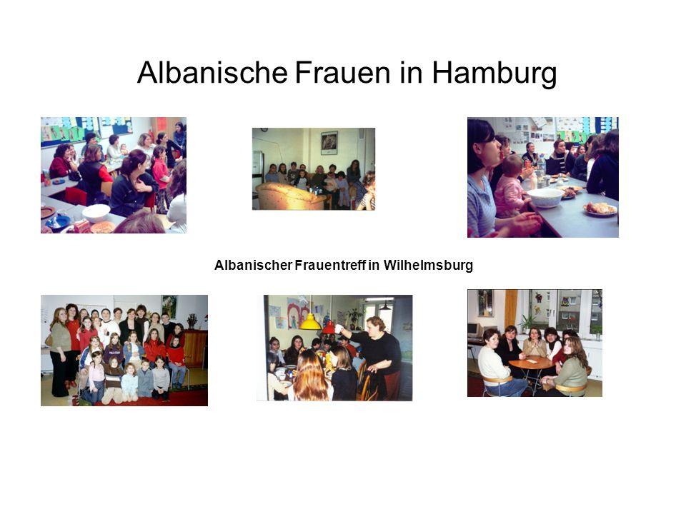 Albanische Frauen in Hamburg Albanischer Frauentreff in Wilhelmsburg