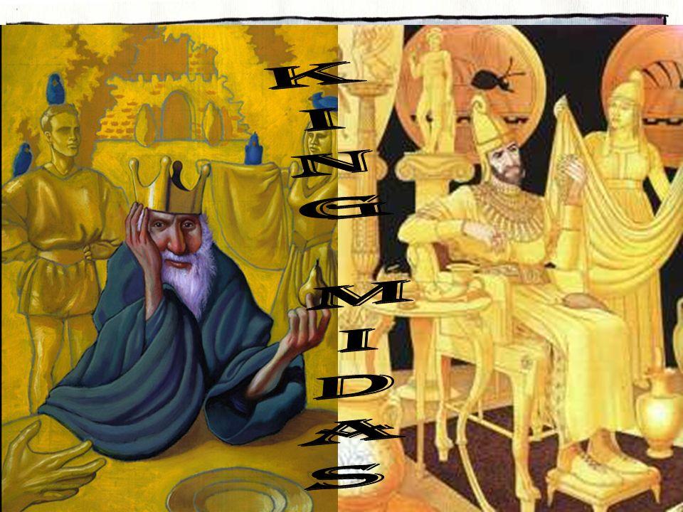Die eine Geschichte handelt von der Sagengestalt König Midas, der nicht nach den richtigen Werten handelte. Nach dem Spiel hörst du zwei Geschichten.