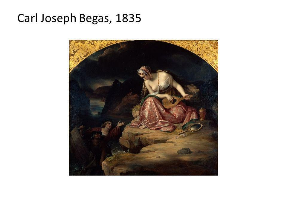 Carl Joseph Begas, 1835