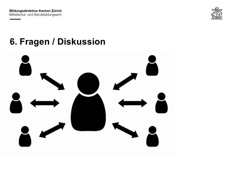 6. Fragen / Diskussion