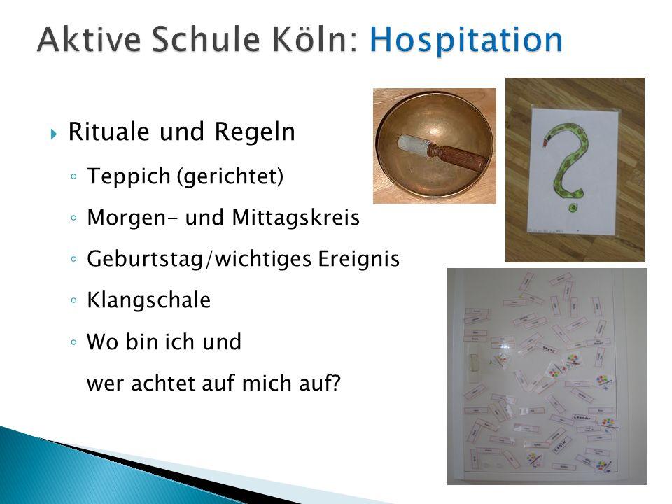 Homepage der Aktiven Schule Köln: http://www.aktive-schule-koeln.de Pädagogisches Konzept der ASK: http://www.aktive-schule-koeln.de/paedagogik Bildungsziele NRW: http://www.standardsicherung.schulministerium.nr w.de/lehrplaene/upload/klp_gs/LP_GS_2008.pdf Bildungsziele NRW Handreichung: http://www.standardsicherung.schulministerium.nr w.de/lehrplaene/upload/klp_gs/LP_GS_Handreichu ng.pdf