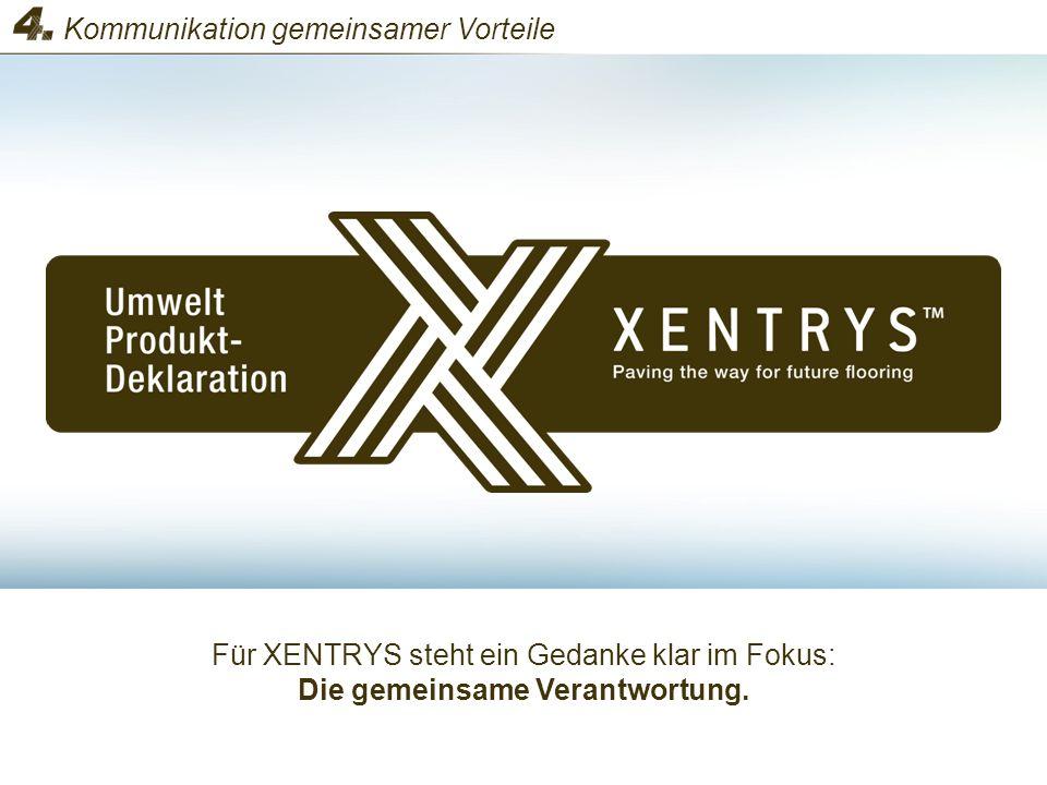 Für XENTRYS steht ein Gedanke klar im Fokus: Die gemeinsame Verantwortung. Kommunikation gemeinsamer Vorteile