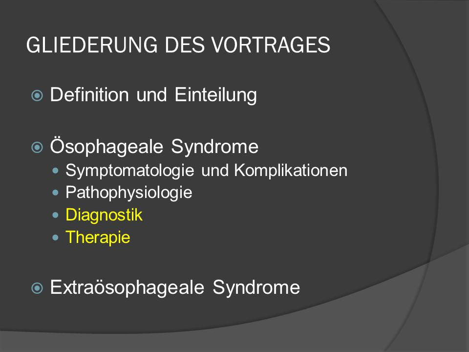 THERAPIE: EMPIRISCHE THERAPIE Dauer 2 - 4 Wo, ev.
