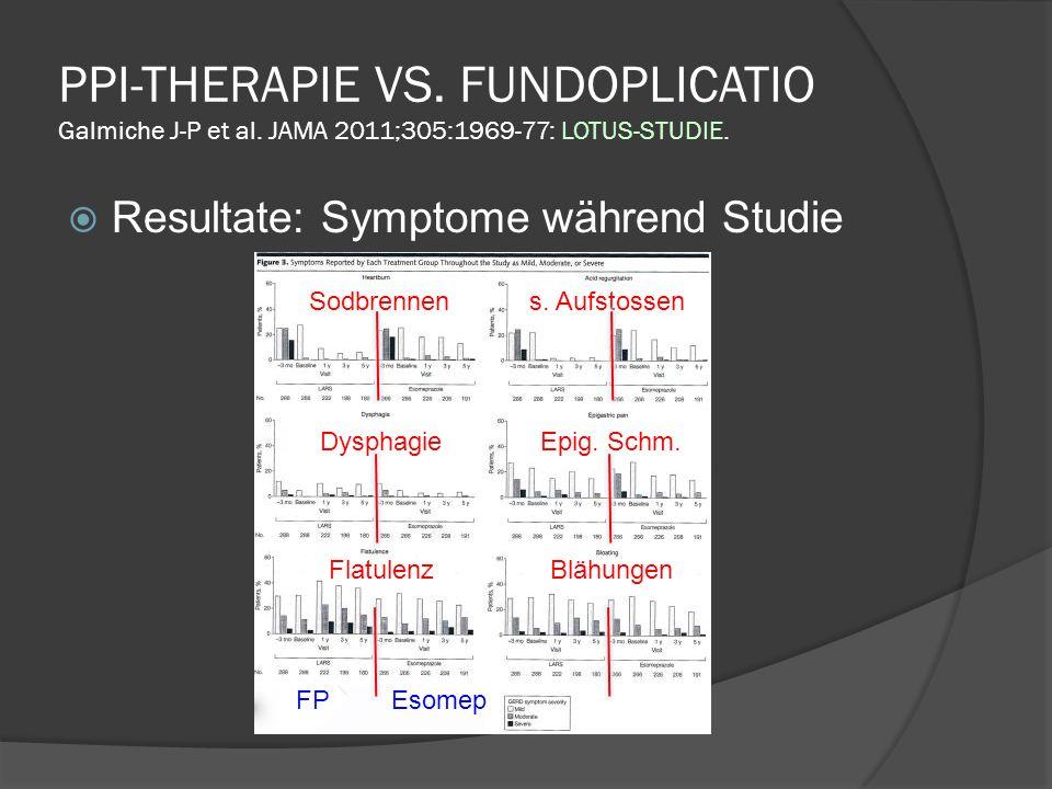 PPI-THERAPIE VS.FUNDOPLICATIO Galmiche J-P et al.