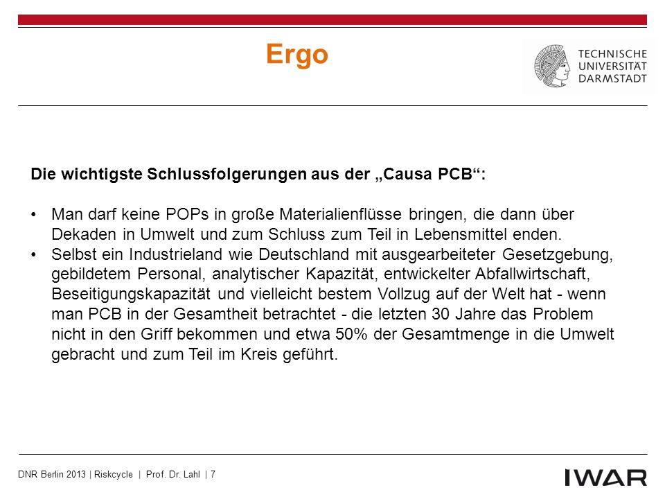 REACH http://www.echa.europa.eu/image/image_gallery?uuid=cbe4a531-398c-4dc4-ac3e-7844ec57ae5d&groupId=10162&t=1335784592024 DNR Berlin 2013 | Riskcycle | Prof.