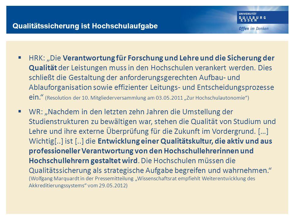 Rollen der Beteiligten – dezentral / zentral Senat, 03.05.2013 Universität Duisburg-Essen