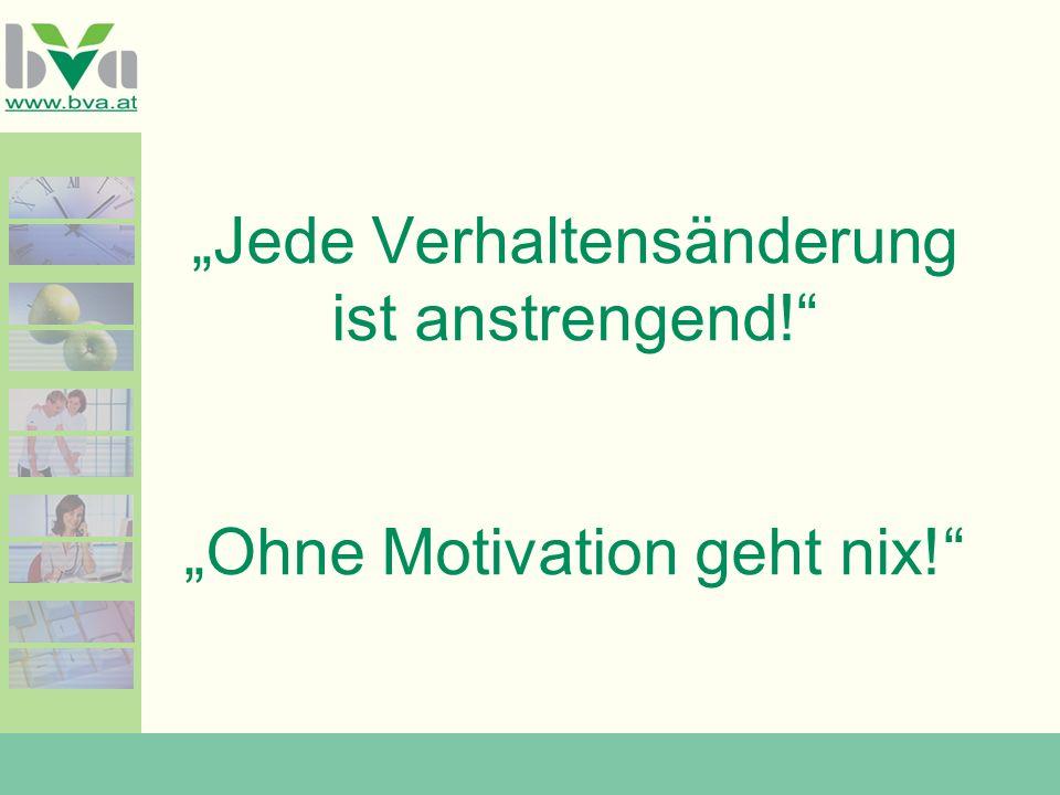 Motivation, die von Innen kommt