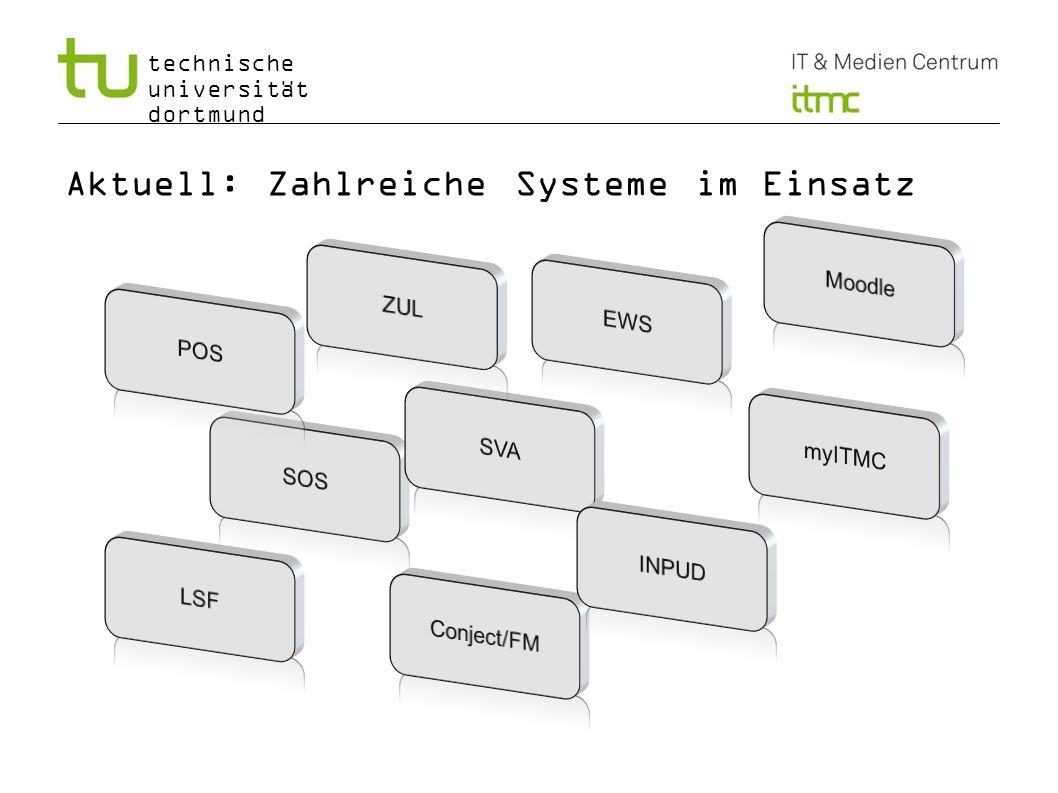 technische universität dortmund Aktuell: Zahlreiche Systeme im Einsatz