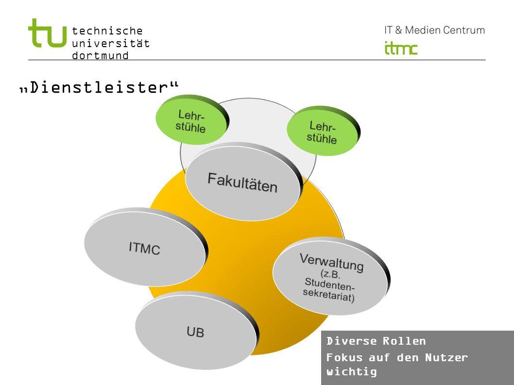 technische universität dortmund Informationsmanagement Wo finden sich die aktuellen Informationen.
