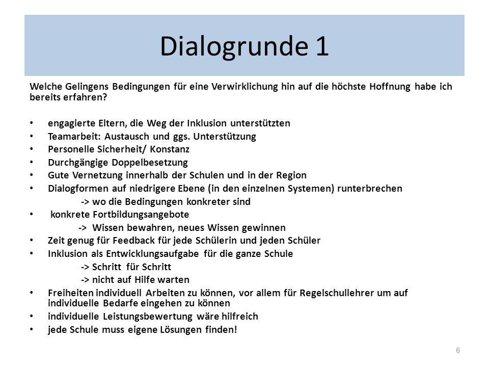 Podium Kerstin Schulte (Rosenmaarschule) GS Lehrerin Inklusion wird gelebt, Unterschiede zw.