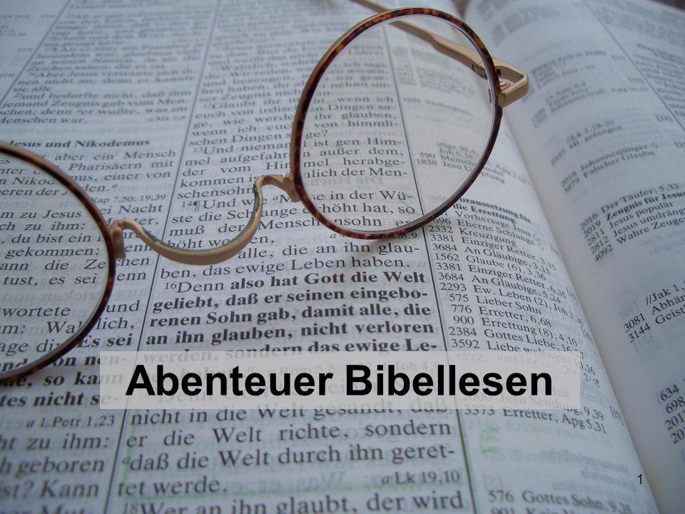 1 Abenteuer Bibellesen