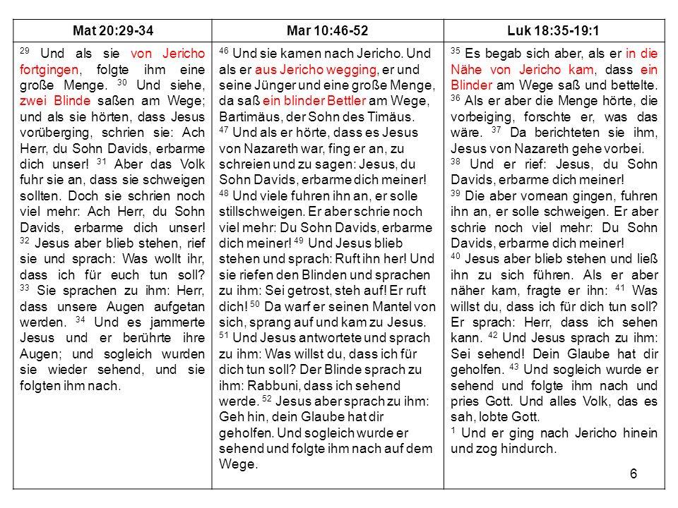 7 1.unlogische Stellen, Brüche 2. Parallele Erzählungen (Könige + Chronik, Evangelien) 3.