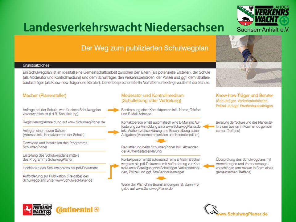 Landesverkehrswacht Niedersachsen 04. Dezember 2013Schulwegsicherheit17