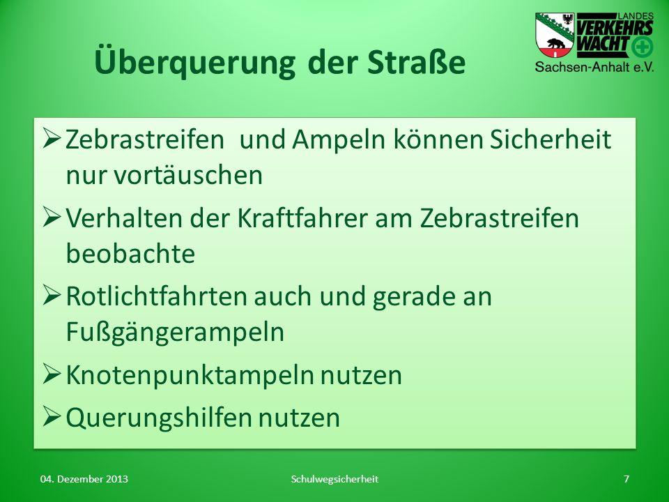 Leitfaden zur Erstellung von Schulwegpläne der BASt http://www.bast.de/ schulwegplan http://www.bast.de/ schulwegplan Sehr umfangreiches Material Präsentationsfolien Schule, Eltern, StVB.