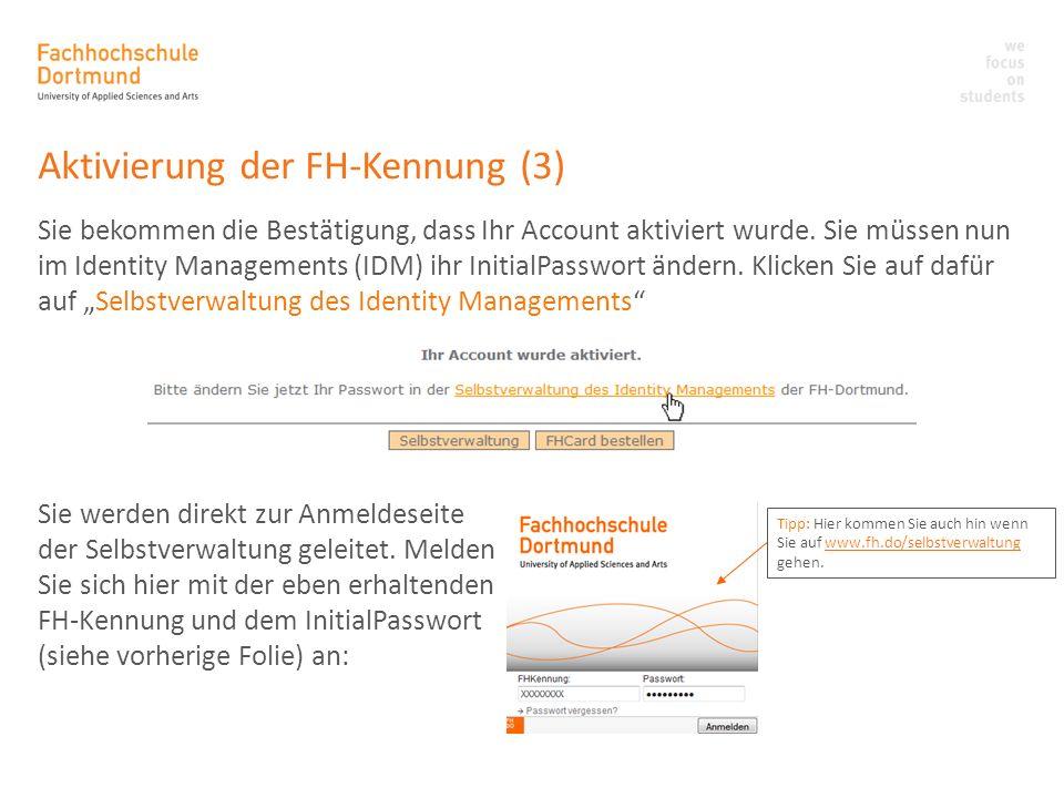 Anmelden bei ILIAS (1) ILIAS ist die Lernplattform der FH Dortmund.