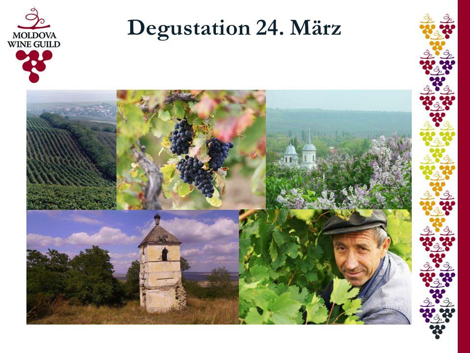 Degustation 24. März