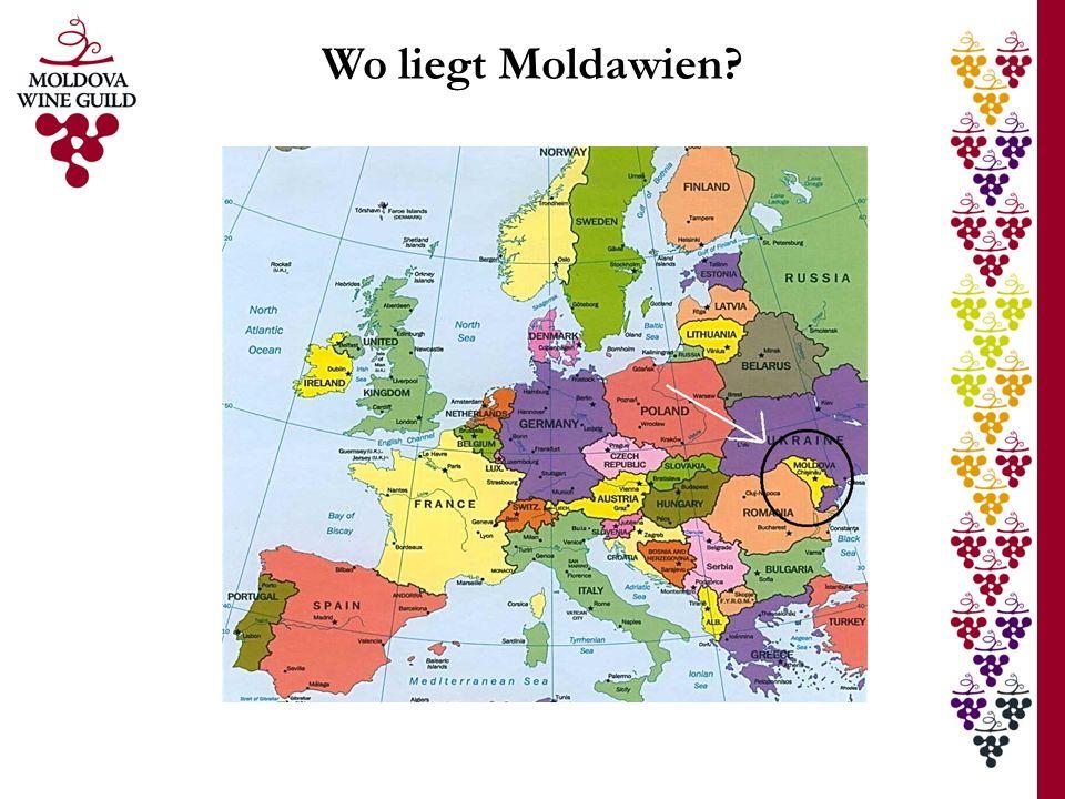 Wo liegt Moldawien?