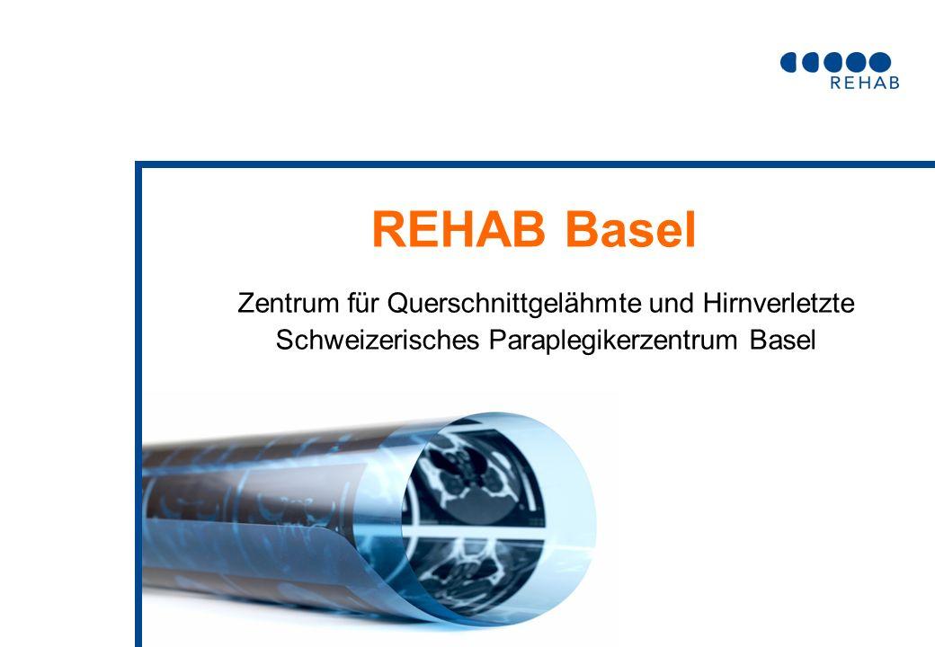 REHAB Basel Zentrum für Querschnittgelähmte und Hirnverletzte Schweizerisches Paraplegikerzentrum Basel
