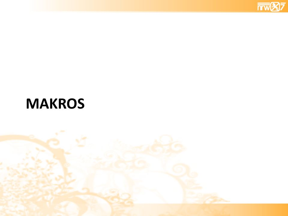 MAKROS