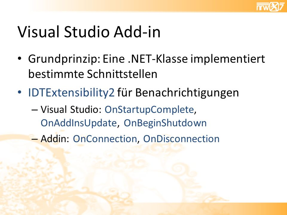 Visual Studio Add-in