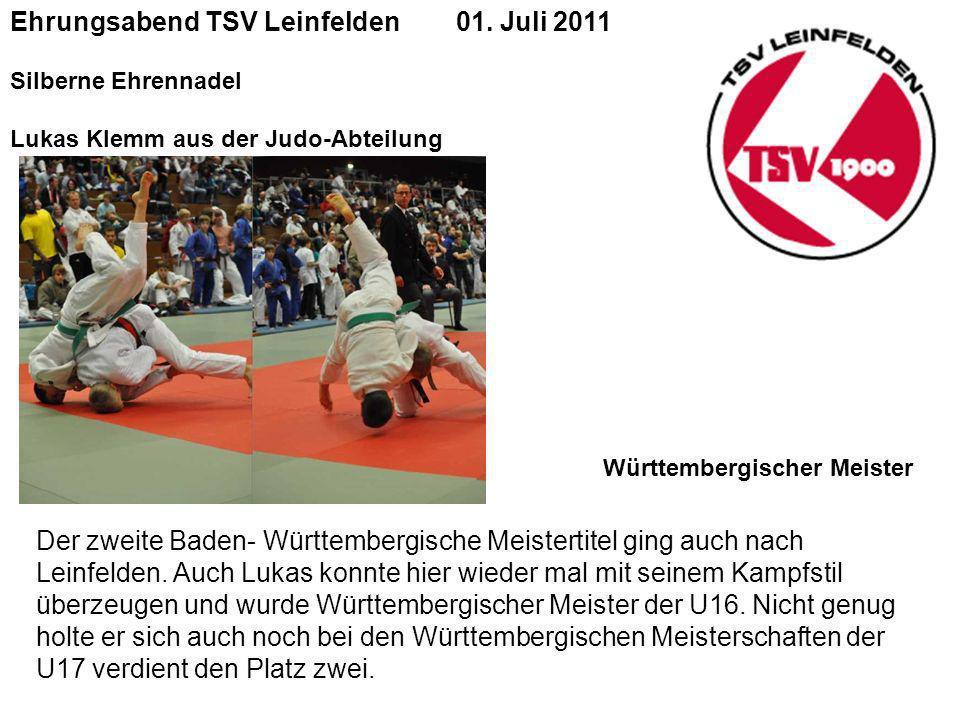 Ehrungsabend TSV Leinfelden 01.