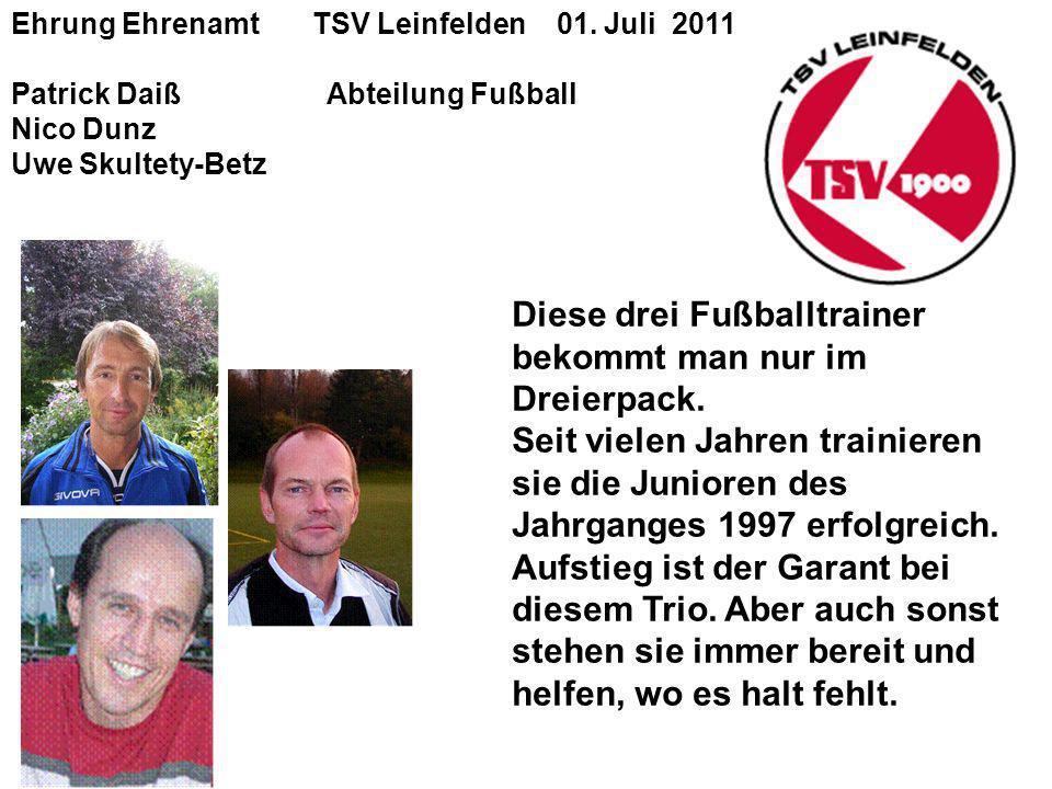 Ehrung Ehrenamt TSV Leinfelden 01.
