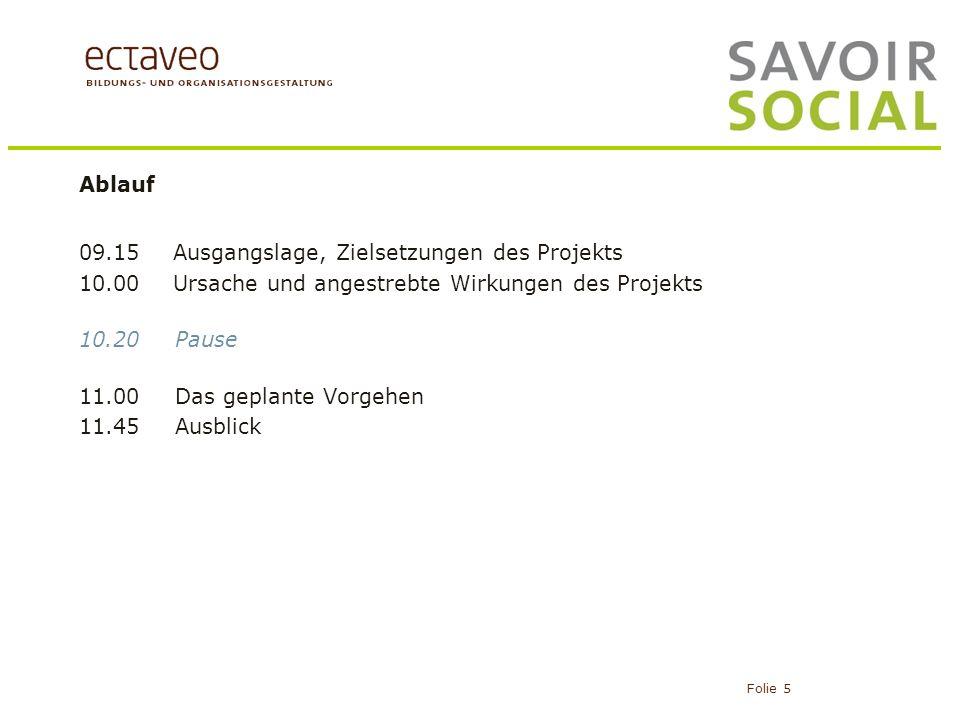 Projektorganisation Folie 16 Steuergruppe SKBQ Operative Projektleitung K.