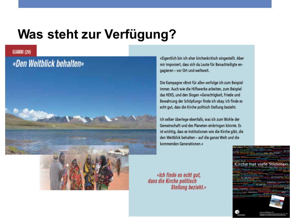 4. Juni 2013 Reformierte Kirchen Bern-Jura-Solothurn 6 Was steht zur Verfügung?
